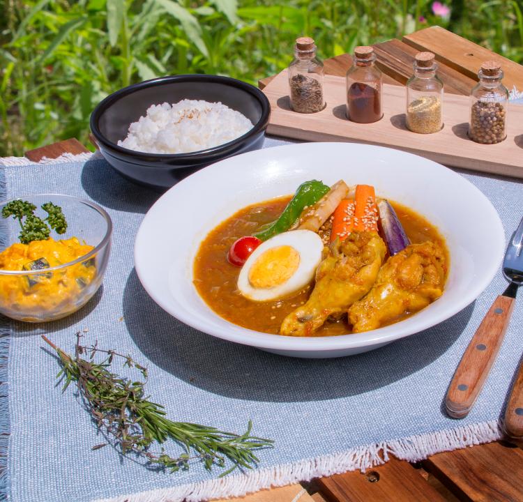コモリバ特製スープカレー