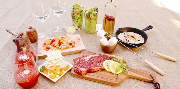 BBQコース料理画像