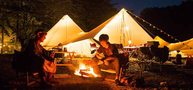 ナイトキャンプについて